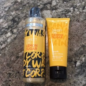 NEW Mark byAvon LemonSugar 3in1 BodyWash&HandCream